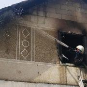 На Калущині пожежники врятували будинок від вогню