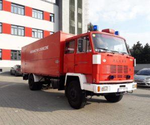 Поляки подарували прикарпатським рятувальникам спецавтомобіль (ФОТО)