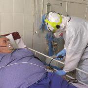 Журналісти показали реанімацію в Івано-Франківську, де лікують хворих на COVID-19. ВІДЕО
