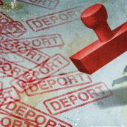 За плечима численні засудження: з Прикарпаття депортували грузина