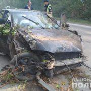 На Тернопільщині жінку внаслідок удару автомобілем розірвало навпіл (ФОТО 18+)