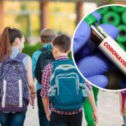 Школяр з COVID-19 прийшов на перший урок: батьки не знають, що робити