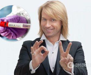 Олег Винник захворів коронавірусом: у співака – двостороння пневмонія