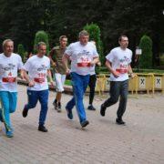Акцію «Шаную воїнів, біжу за Героїв України» провели в Івано-Франківську (ФОТО)