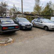 На Франківщині обстріляли автомобіль однієї з політичних партій (фото)