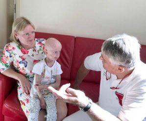 Єдина в Україні дівчинка з синдромом передчасного старіння успішно перенесла складну операцію