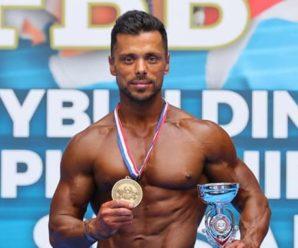 Прикарпатець переміг на чемпіонаті Європи з бодібілдингу