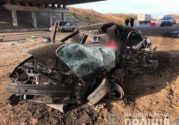 На місці аварії загинули батько і дочка