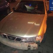 Франківські патрульні затримали п'яного водія, який вчинив ДТП та втік (ФОТО)