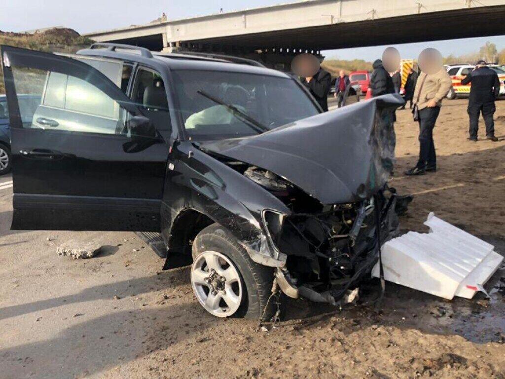 Пасажир і водій джипа не постраждали