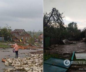 Ураган в Кропивницькому зірвав дахи і обвалив стіни, є постраждалі. Фото та відео