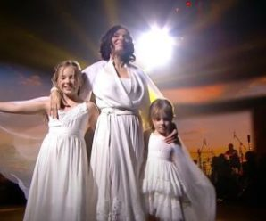 """""""Танці з зірками"""": Надія Мейхер вперше показала своїх доньок Ганну та Марію (ВІДЕ0)"""