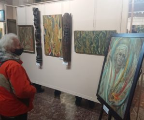 В Івано-Франківську відкрили виставку Опанаса Заливахи до 95-ліття художника. Фото