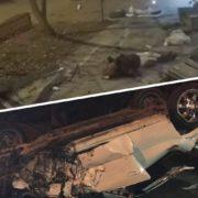 В нічній ДТП загинуло двоє жінок, ще двох забрали в лікарню (відео)