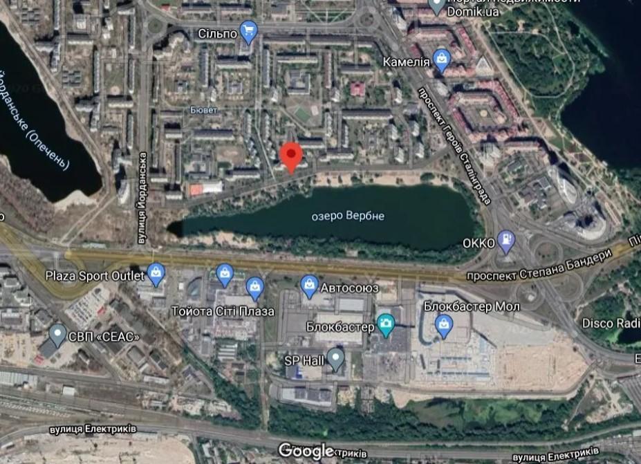 скріншот Google-карти / Obozrevatel