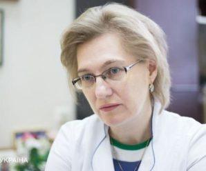 Голубовська запропонувала радикальні заходи для зупинки COVID-19 в Україні
