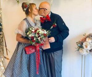 Кохання без меж: на Закарпатті одружилися 71-річний італієць та українка (ФОТО)