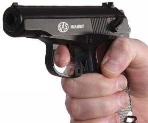 У Франківську чоловік на вулиці відкрив вогонь з травматичного пістолета: поранено 3 людей