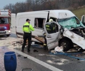 Водій заснув за кермом: за кордоном розбився мікроавтобус з українцями, є загиблі та поранені (ФОТО) (оновлено)