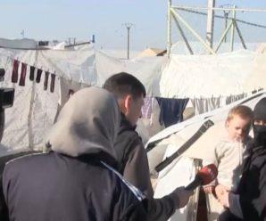 Українських жінок і семеро дітей звільнили з сирійського табору (перші фото)