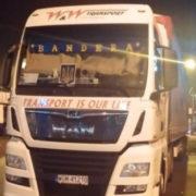 """У Польщі прогримів скандал через вантажівку з написом """"Бандера"""""""
