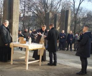 В Івано-Франківську заклали капсулу на місці будівництва церкви Святого Миколая (ФОТО)