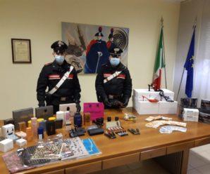 В Італії українця заарештували за крадіжку косметики на 100 тисяч € і зберігання зброї