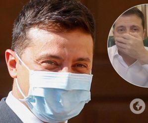 Зеленський показав майстер-клас, як правильно носити маски. Фото та відео
