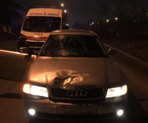 У Франківську на смерть збили жінку-пішохода (ФОТОФАКТ)