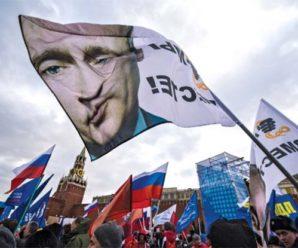 Марш на честь Бандери в Україні: росіянам знову маряться «фашисти»