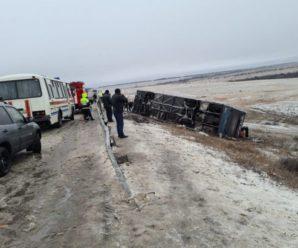 Автобус, який прямував в Україну, потрапив у смертельну аварію під Ростовом-на-Дону