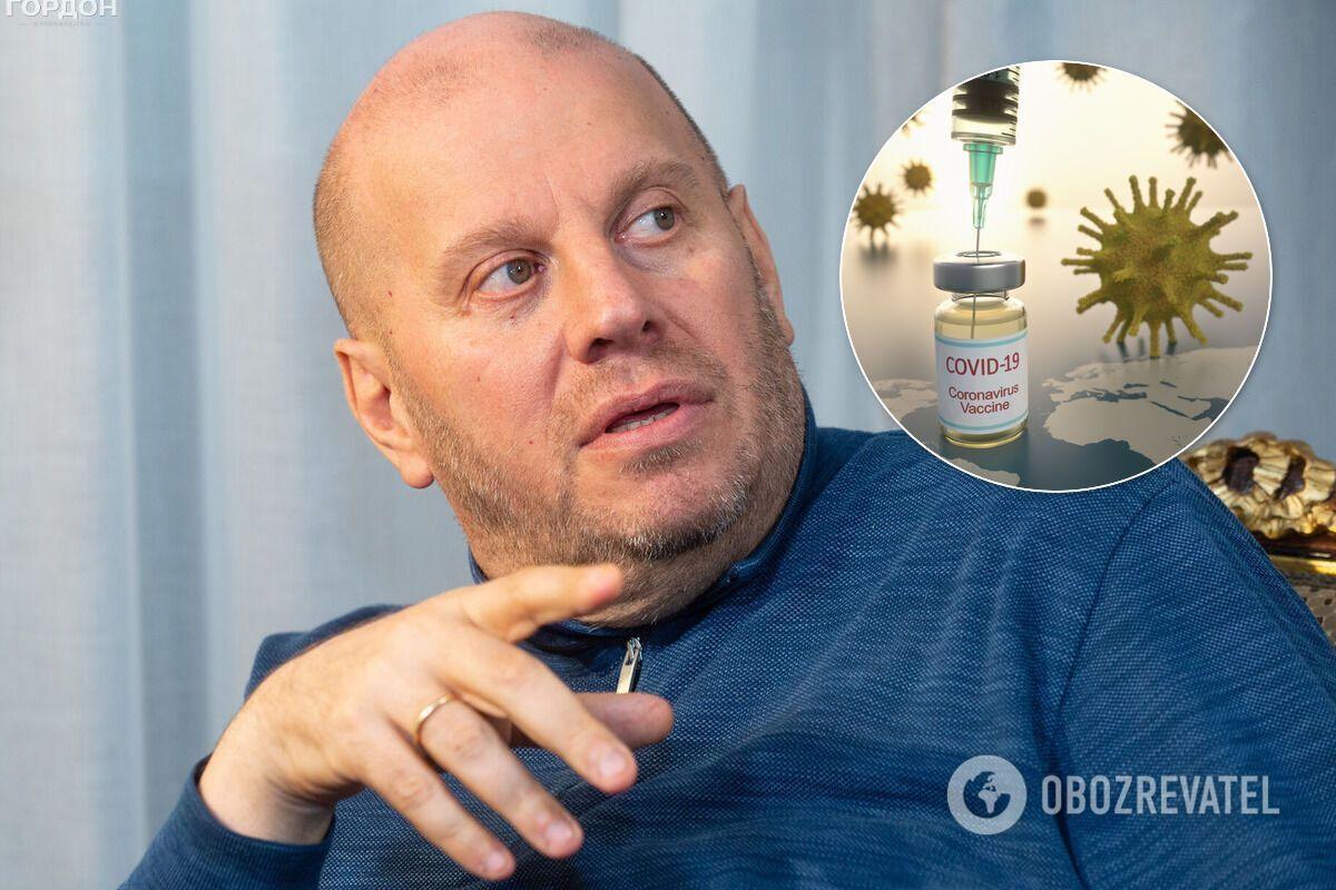 Підпільна вакцинація топчиновників в Україні може виявитися біологічною диверсією – Бродський