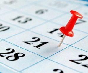 У 2021 році у зв'язку з державними святами робочі дні будуть перенесені тричі