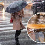 """На Україну насувається циклон """"Ахмет"""" з мокрим снігом"""