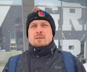 Говорив українською: скандально відомий Усик дав найкоротше у світі інтерв'ю (відео)