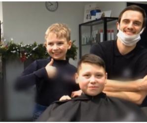 На Прикарпатті 9-річний хлопчик опанував перукарську справу і вже має постійних клієнтів (ВІДЕО)