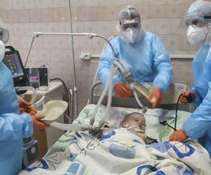 До лікарні Івано-Франківська поступили важкі кисневозалежні діти з COVID-19