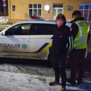 Вихопив сумку й втік: на Прикарпатті затримали зловмисника (ФОТО)