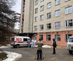 """У """"ковідній"""" лікарні сталася пожежа: є жертва та постраждалі – фото, відео"""