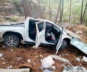 У Туреччині автомобіль злетів у прірву: дві українки у тяжкому стані в лікарні