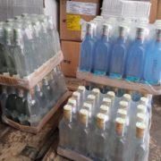 На Прикарпатті вилучили понад 4 тисячі літрів фальсифікованого алкоголю (фото)