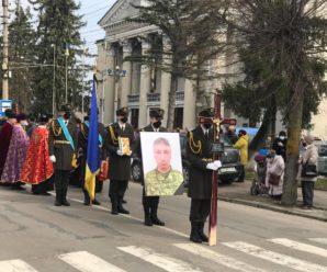 У Калуші попрощалися з убитим на Донбасі військовим (фото)