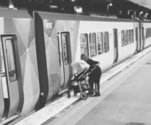 Мати вийшла і забула немовля у вагоні метро, доки розмовляла по телефону