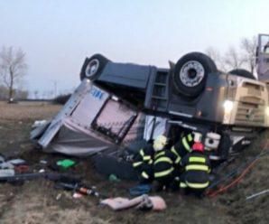 Молодий українець загинув у ДПТ у Словаччині: водія затиснула багатотонна фура