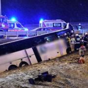 Український автобус потрапив у ДТП в Польщі, є загиблий і поранені