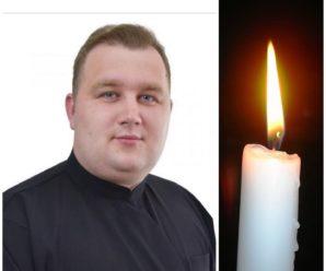 Внаслідок тривалої боротьби з хворобою загинув 24-річний священник з Тернопільщини