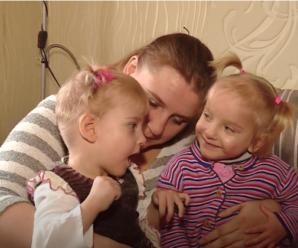 """""""На днях не стало тата і мами"""": двом трирічним сестричкам терміново потрібна допомога, вони в лікарні"""