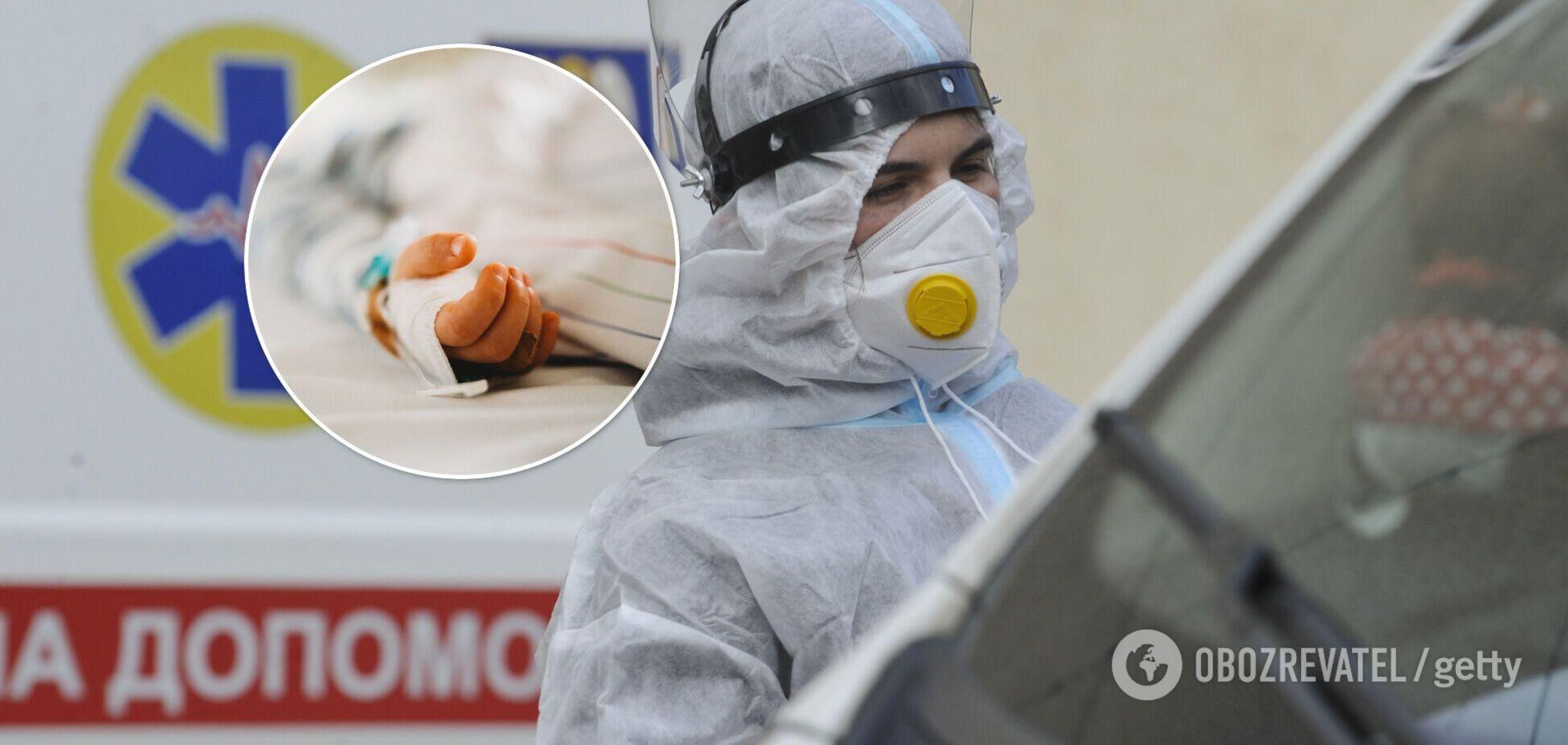 На Вінниччині померла трирічна дитина з COVID-19