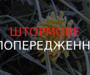 В Україні оголосили штормове попередження: де зіпсується погода