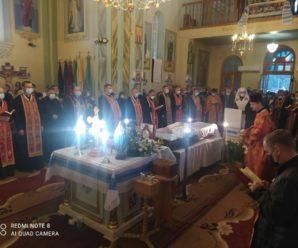 На Франківщині провели в останню путь спочилого священника УГКЦ (фото)